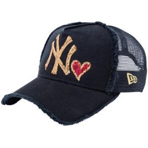 ニューエラ 940キッズキャップ スナップバック エーフレームニューヨークヤンキース シークインド ブラック New Era 940 Kids Cap A-Frame New York Yankees|cio