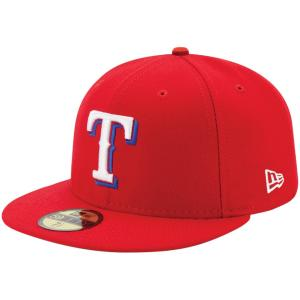 ニューエラ 5950キャップ オーセンティック オンフィールド テキサス レンジャーズ チームカラー ホワイト New Era 59FIFTY Cap Authentic Texas Rangers cio