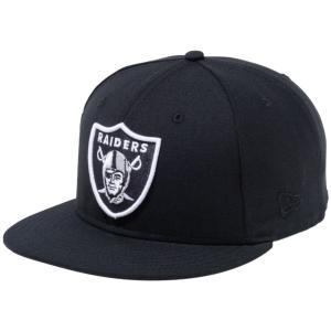 ニューエラ 950 スナップバック キャップ NFLカスタム オークランドレイダース ブラック New Era 9FIFTY Snap Back Cap NFL Custom Oakland Raiders Black|cio