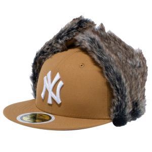 ニューエラ 5950キッズ キャップ ドッグイヤー ベーシックファブリック ニューヨークヤンキース ウィート New Era 59FIFTY Kids Cap Dog Ear New York Yankees|cio