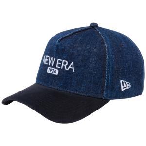 ニューエラ 940 スナップバック キャップ エーフレーム ジャパンデニム New Era 1920 ロゴ ウォッシュドデニム スウェードブラック ホワイト ネイビー New Era|cio