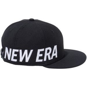 ニューエラ 950 スナップバック キッズ キャップ エッセンシャル サイドビッグロゴ ブラック スノーホワイト New Era 9FIFTY Snapback Kids Cap Essential|cio