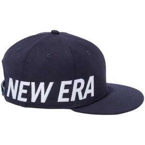 ニューエラ 950 スナップバック キッズ キャップ エッセンシャル サイドビッグロゴ ネイビー スノーホワイト New Era 9FIFTY Snapback Kids Cap Essential Side|cio