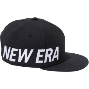 ニューエラ 950チャイルド スナップバック キャップ エッセンシャル サイドビッグロゴ ブラック スノーホワイト New Era 9FIFTY Child Snapback Cap Essential|cio
