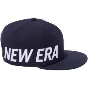 ニューエラ 950チャイルド スナップバック キャップ エッセンシャル サイドビッグロゴ ネイビー スノーホワイト New Era 9FIFTY Child Snapback Cap Essential|cio