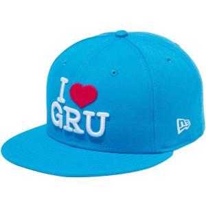 ミニオンズ×ニューエラ 950 スナップバック キャップ I LOVE GRU ブルージュエル ホワイト ストロベリー Despicable Me Minion×New Era 9FIFTY Snapback Cap|cio