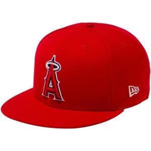 ニューエラ 950 スナップバック キャップ ロサンゼルス エンゼルス スカーレット メタリックシルバー New Era 9FIFTY Snapback Cap Los Angeles Angels|cio