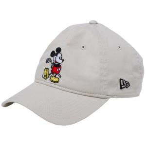 ディズニー×ニューエラ 930キャップ クローズストラップ ゴルフ ミッキーマウス ストーン ブラック Disney×New Era 9THIRTY Cap Cloth Strap Golf|cio