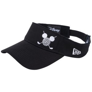ディズニー×ニューエラ サンバイザー ゴルフ ミッキーマウス ブラック スノーホワイト Disney×New Era Sun Visor Golf Mickey Mouse Black Snow White|cio