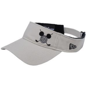 ディズニー×ニューエラ サンバイザー ゴルフ ミッキーマウス ストーン ブラック Disney×New Era Sun Visor Golf Mickey Mouse Stone Black|cio