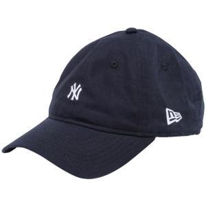 ニューエラ 930キャップ クローズストラップ ニューヨークヤンキース タイプライター ブラック ホワイト New Era 9THIRTY Cap Cloth Strap New York Yankees|cio