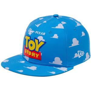 トイストーリー×ニューエラ 950 スナップバック キッズ キャップ オールオーバー TPUパッチ WALLプリント ホワイト Toy Story×New Era 9FIFTY Snap Back|cio