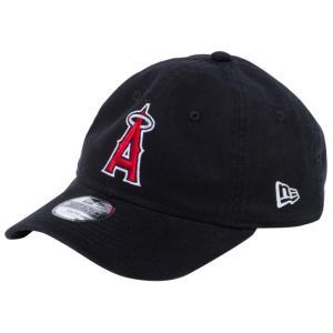 ニューエラ 920キッズキャップ クローズストラップ ロサンゼルス エンゼルス ブラック ホワイト New Era 9TWENTY Kids Cap Cloth Strap Los Angeles Angels|cio