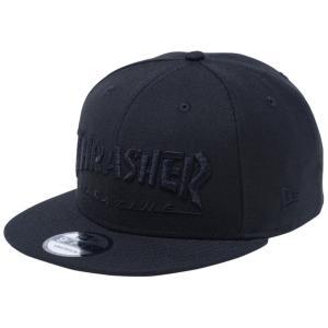 スラッシャー×ニューエラ 950 キャップ スナップバック ブラック ブラック Thrasher×New Era 9FIFTY Cap Snapback Black Black|cio