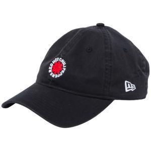 レッドホットチリペッパーズ×ニューエラ 930 キャップ クローズストラップ ブラック ホワイト ラディアントレッド Red Hot Chili Peppers×New Era 9THIRTY Cap|cio