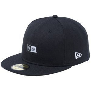 ニューエラ 5950キャップ ツートーンロゴ ウーブンラベル ボックスロゴ ブラック ブラックウーブンパッチ ホワイト New Era 59FIFTY Cap 2Tone Logo Box Logo|cio