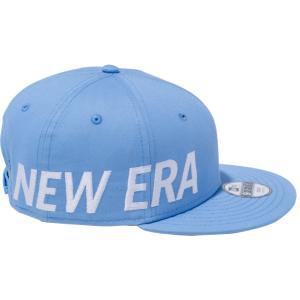 ニューエラ 950 スナップバック キッズ キャップ エッシェンシャル サイドビッグロゴ スカイブルー ホワイト New Era 9FIFTY Snap Back Kids Cap Essential|cio