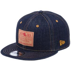 ニューエラ 950 スナップバック キャップ ジャパンデニム オールドロゴ インディゴデニム ペーパーラベル コパー New Era 9FIFTY Snap Back Cap Japan Denim|cio