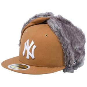 ニューエラ 5950キッズ キャップ ドッグイヤー ニューヨークヤンキース ダックタン スノーホワイト New Era 59FIFTY Kids Cap Dog Ear New York Yankees|cio