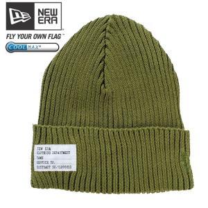 クールマックス(R)×ニューエラ ニットキャップ ミリタリーウォッチニット オリーブグリーン COOL MAX(R)×New Era Knit Cap Military Knit Olive Green cio