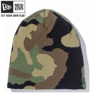 ニューエラ ニットキャップ ベーシックビーニー ウッドランドカモ ブラック New Era Knit Cap Basic Beanie Woodland Camo Black cio