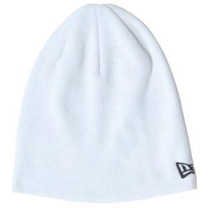 ニューエラ ニットキャップ ベーシックビーニー コットンブレンド ホワイト ブラック New Era Knit Cap Basic Beanie Cotton Blend White Black cio