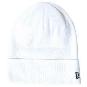ニューエラ ニットキャップ ベーシックカフニット コットンブレンド ホワイト ブラック New Era Knit Cap Basic Cuff Knit Cotton Blend White Black cio