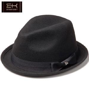 イーケーバイニューエラ ハット ザ フェドーラ ウール グログランバンド ブラック EK by New Era Hat The Fedora Wool Grosgrain Band Black|cio