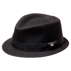 イーケーバイニューエラ ハット ザ イーケー ヨーカー ウール グログランバンド ブラック EK by New Era Hat The Yorker Wool Grosgrain Band Black|cio