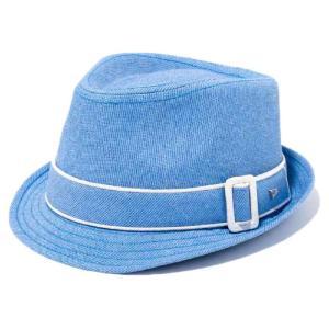 イーケーバイニューエラ ハット ザ トリルビー コードレーンバンド コードレーンブルー EK by New Era Hat The Trilby Cordlane Band Cordlane Blue|cio