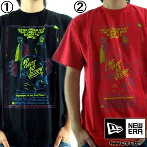 【SALE】ニューエラ S/S Tシャツ デッド クレッド 1.ブラック 2.スカーレット New Era S/S TEE DEAD CRED|cio