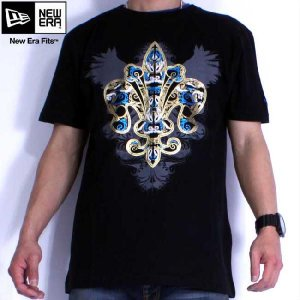 ニューエラ S/S Tシャツ BW ブラック New Era S/S Tee Shirt BW Black|cio