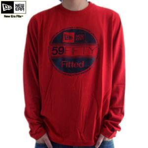 ニューエラ L/S Tシャツ コア ベーシック ロングスリーブ ティー スカーレット/ブラック New Era L/S TEE Shirts CORE BASICS Scarlet/Black|cio