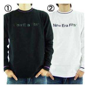 ニューエラ  L/S Tシャツ フィッツ プリント 1.ブラック 2.ホワイト New Era L/S TEE New Era Fits Print 1.Black 2.White|cio