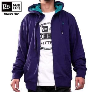 ニューエラ フーディー インスピ フェリックス ダブル フード パープル アクア New Era HOODIE INSP FELIX Double Hood Purple Aqua cio