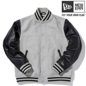 ニューエラ スタジアムジャケット ベーシック グレー ブラック グレー New Era Stadium Jacket Basic Gray Black Gray|cio