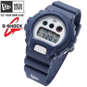 カシオ×ニューエラ ウォッチ バイ ジーショック DW-6900 ネイビー ホワイト Casio×New Era Watch By G-Shock DW-6900 Navy White|cio