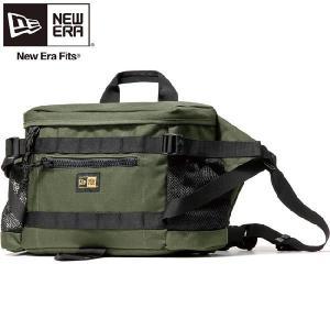 ニューエラ バッグ スクエアウェストバッグ コーデュラ アーミーグリーン New Era Bag Square Waist Bag Cordura Army Green|cio