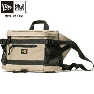 ニューエラ バッグ スクエアウェストバッグ コーデュラ サンドベージュ  New Era Bag Square Waist Bag Cordura Sand Beige|cio