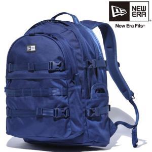 ニューエラ バッグ リュックサック キャリアパック ネイビー ホワイト New Era Bag Carrier Pack Navy White|cio