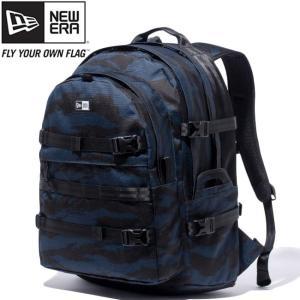 ニューエラ バッグ リュックサック キャリアパック タイガーストライプカモネイビー ブラック New Era Bag Carrier Pack Tiger Stripe Camo Navy Black White|cio