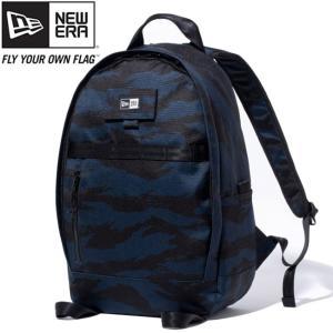 ニューエラ バッグ リュックサック デイパック タイガーストライプカモネイビー ブラック ホワイト New Era Bag Day Pack Tiger Stripe Camo Navy Black White|cio