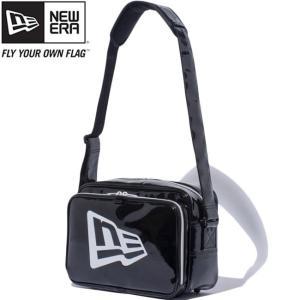 ニューエラ バッグ エナメルバッグ スモール ブラック ホワイト New Era Bag Enamel Bag Small Black White|cio
