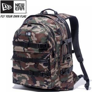 ニューエラ バッグ リュックサック キャリアパック ウッドランドカモ ブラック ホワイト New Era Bag Carrier Pack Woodland Camo Black White|cio