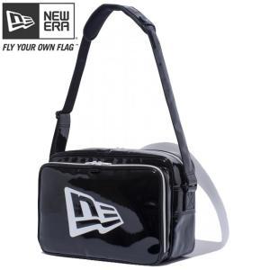 ニューエラ エナメルバッグ ミディアム ブラック ホワイト ホワイト New Era Enamel Bag Medium Black White White|cio