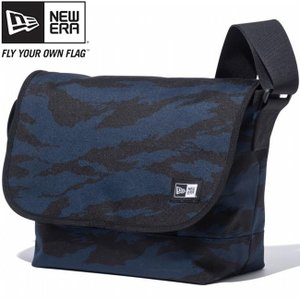 ニューエラ ショルダーバッグ タイガーストライプカモネイビー ブラック ホワイト New Era Shoulder Bag Tiger Stripe Camo Navy Black White|cio
