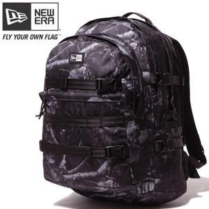 ニューエラ バッグ リュックサック キャリアパック ダークナイトツリー ブラック ホワイト New Era Bag Back Pack Carrier Pack Dark Night Tree Black cio