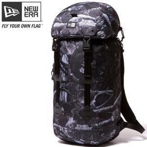ニューエラ バッグ リュックサック ラックサック ダークナイトツリー ブラック ホワイト New Era Bag Back Pack Rucksack Dark Night Tree Black White|cio