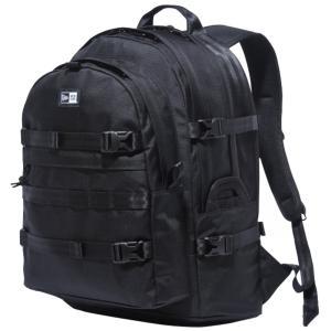ニューエラ バッグ リュックサック キャリアパック ブラック ホワイト New Era Bag Back Pack Carrier Pack Black White|cio