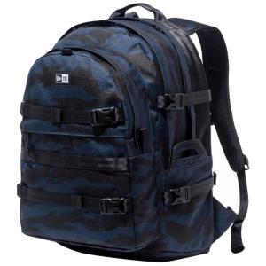 ニューエラ バッグ リュックサック キャリアパック タイガーストライプカモネイビー ブラック New Era Bag Back Pack Carrier Pack Tiger Stripe Camo Navy|cio